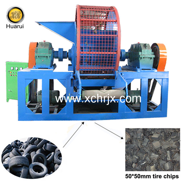Car/ Truck Tire Recycling Shredder/ Used Rubber Tire Shredder Machine for Sale