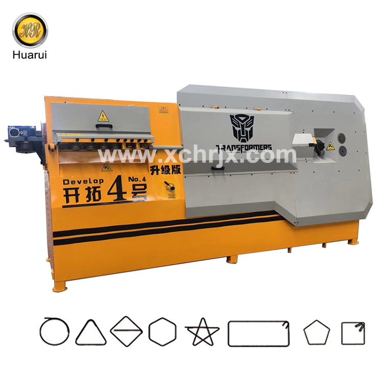 High Capacity Processed in Various Sizes Develop No.4 Bar Bender