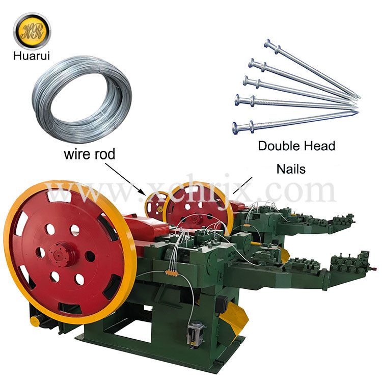 Duplex Head Nail Making Machine
