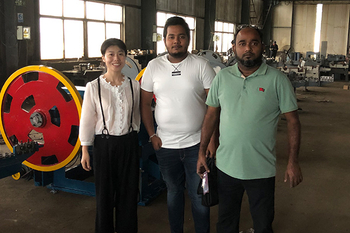 Aug 20, 2019 Bangladesh customers visited our factory and ordered more than 10sets nail making machine.