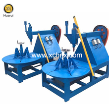 Tire Ring Cutter / Tire Circle Cutting Machine To Remove The Waste Tire Cord