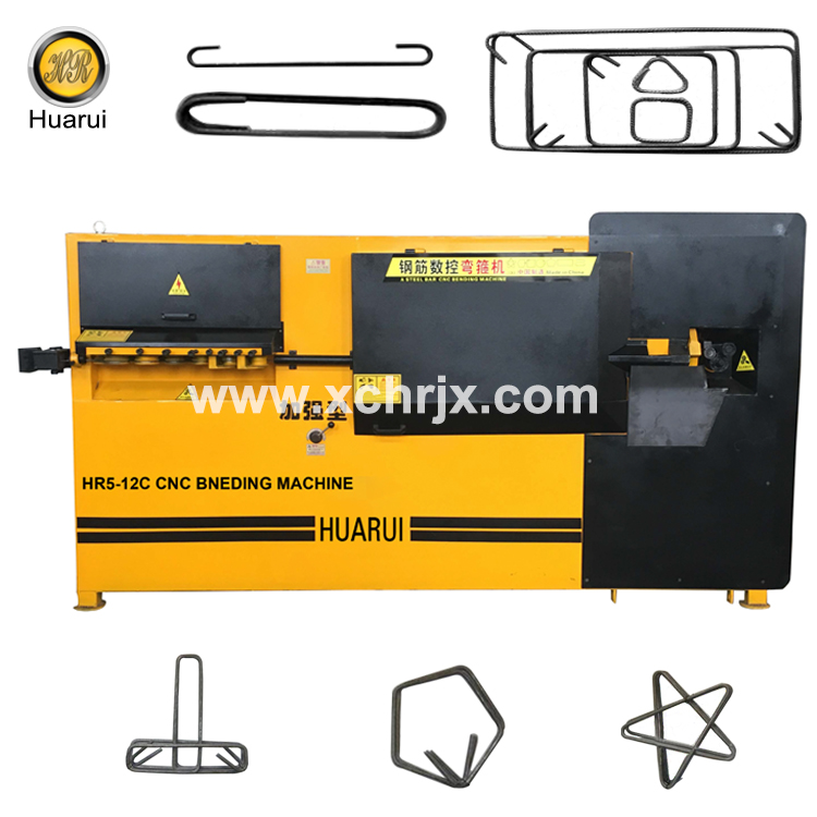 Automatically HR5-12C Steel Bar Bending Machine