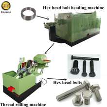 Hex Bolt Making Machine / Multistation Cold Heading Machine / Bolt Threading Machine